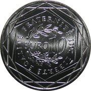 10 euros Alsace (2e type) -  revers