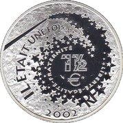 1½ euros Cendrillon -  avers