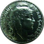 5 francs Marianne de Champlain -  avers