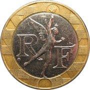 10 francs Génie de la Bastille -  avers