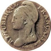 3 centimes Dupré -  avers