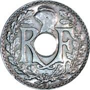5 centimes Lindauer (petit module) -  avers