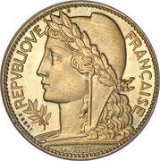 100 francs (Essai de André-Marie Lavrillier) – avers
