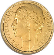 100 francs (Essai de Pierre-Alexandre Morlon) – avers