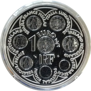 1½ euros Introduction de l'Euro -  avers