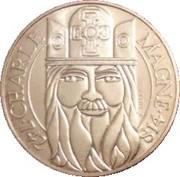 100 francs Charlemagne -  avers