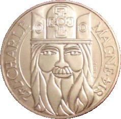 100 Francs Charlemagne France Numista