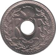 5 centimes Lindauer (grand module, cupronickel) -  avers