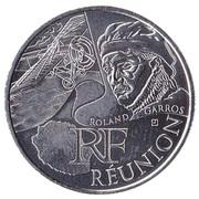 10 euros Réunion (3e type) -  avers