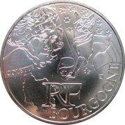 10 euros Bourgogne (3e type) -  avers