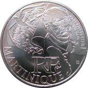 10 euros Martinique (3e type) -  avers