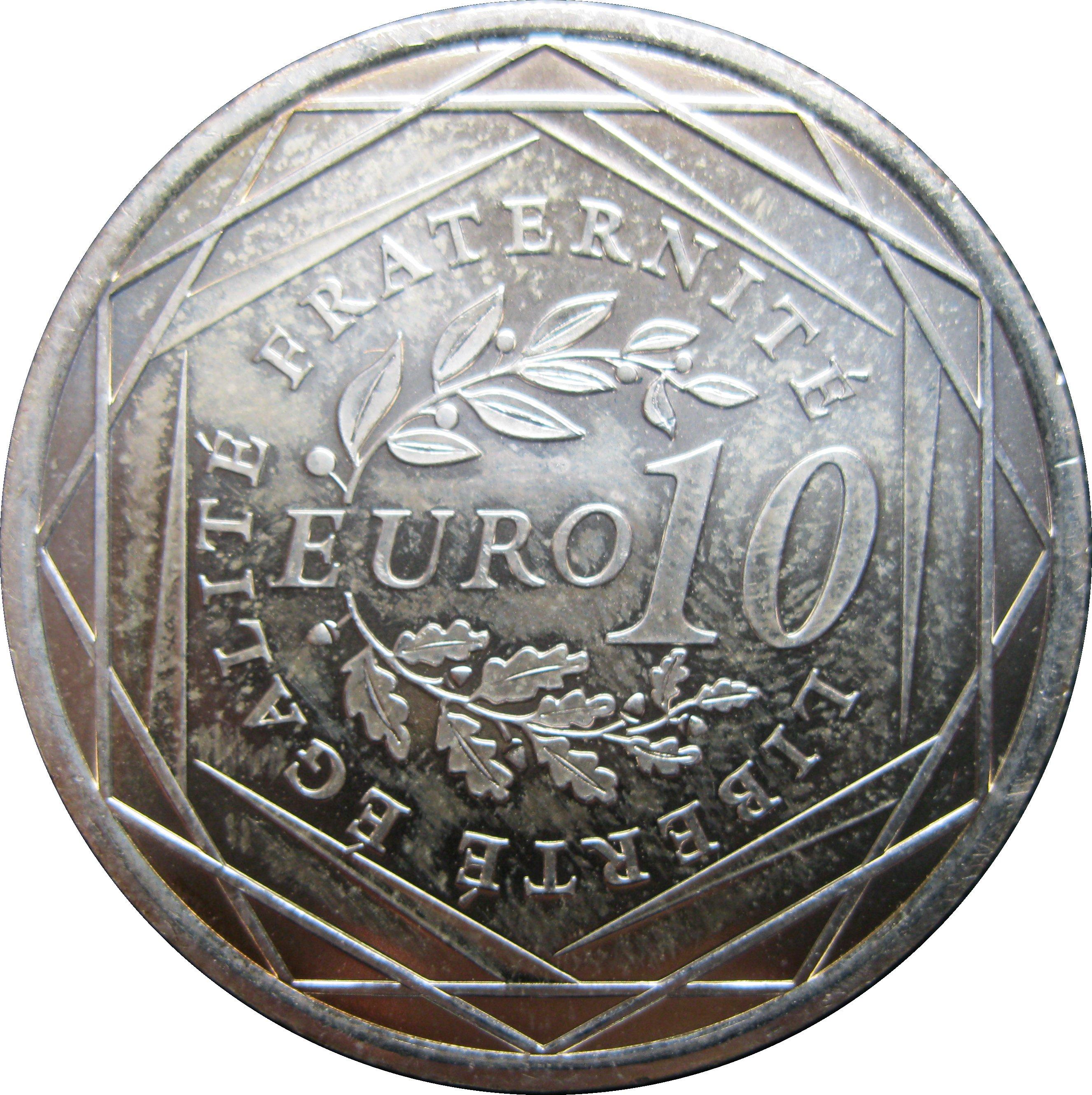 10 euros Semeuse - France - Numista