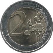 2 euros Abbé Pierre -  revers