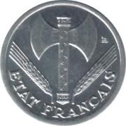 50 centimes Francisque (Lourde (0.8g)) -  avers