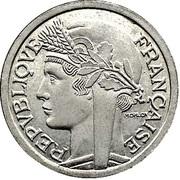 1 franc Graziani (Zinc) -  avers