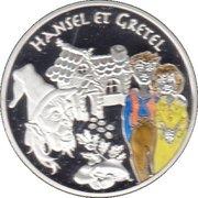 1½ euros Hansel et Gretel -  revers