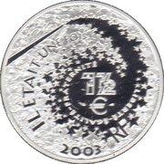 1½ euros Alice au pays des merveilles -  avers