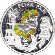 1½ euros Peter Pan -  revers