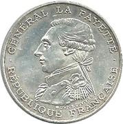100 francs Egalité - La Fayette -  avers