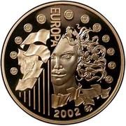 10 euros Introduction de l'Euro -  avers