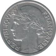 2 francs Morlon (Aluminium-magnésium) -  avers