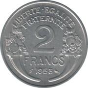 2 francs Morlon -  revers