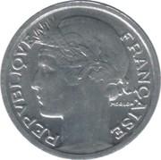 50 centimes Morlon (Aluminium, légère (0.7g)) -  avers
