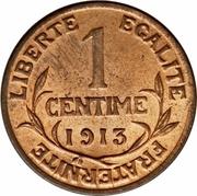 1 centime Dupuis -  revers