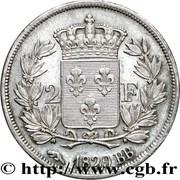 2 francs Charles X -  revers
