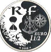 1½ euros Armada de Rouen -  avers