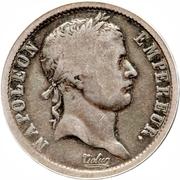 2 francs Napoléon Empereur (Tête laurée, république française) -  avers