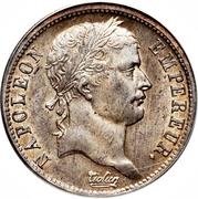 2 francs Napoléon Ier (tête laurée Empire Français) -  avers