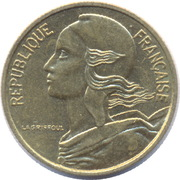 5 centimes Marianne -  avers