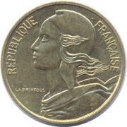 5 centimes Marianne (Cupro-aluminium) -  avers