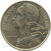 10 centimes Marianne -  avers