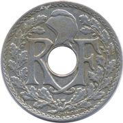 25 centimes Lindauer (cupronickel) -  avers
