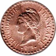 1 centime Dupré (IIe république) -  avers