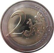 2 euros Pierre de Coubertin -  revers