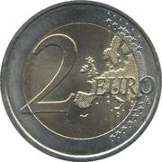 2 euros Appel du 18 Juin 1940 -  revers