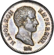2 francs Napoléon Empereur (Calendrier révolutionnaire) -  avers