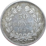 50 centimes Louis Philippe I -  revers