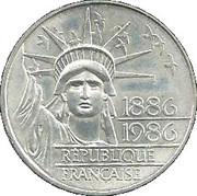 100 francs Statue de la Liberté -  avers