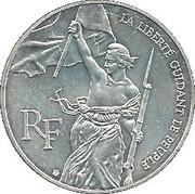 100 francs Liberté guidant le peuple -  avers