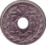 10 centimes Lindauer (nickel, souligné) -  avers