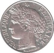 1 franc Cérès (IIIe République) -  avers