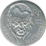 100 francs Malraux -  avers