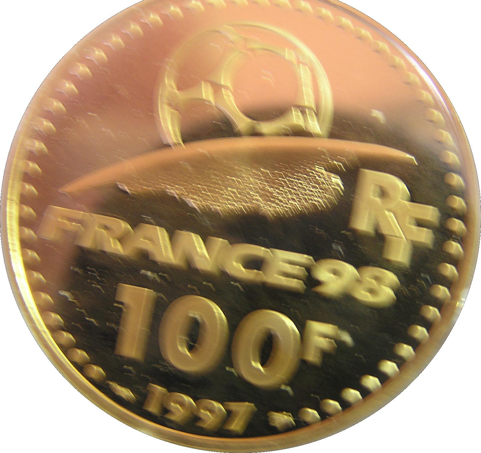 piece de monnaie france 98