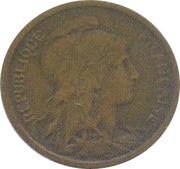2 centimes Daniel-Dupuis (Piéfort en bronze) -  avers