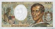 200 francs Montesquieu (type 1981) – avers