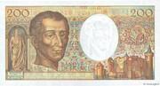 200 francs Montesquieu (type 1981 modifié) – revers